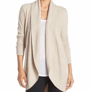 Barefoot Dreams Cardigan - Stone colored